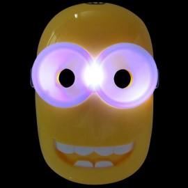 Halloween Costumes LED Light Minions Mask