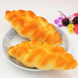 1Pc Kawaii Squishy Simulation Bread Fun Toys Soft Decoration Yellow