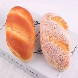 18cm Squishy Toys Slow Rebound Simulation Cocount Long Bread-Color Random