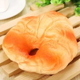 11cm Squishy Soft Simulation Flat Bread Fun Toys Decoration Orange