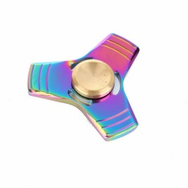 Colorful EDC Hand Spinner Finger Spinner Fidget Gadget Focus Reduce Stress Gadget Dazzle Color Triangle 2 Style