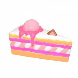 Kiibru Squishy Ice Cream Cake Slice 15.5cm Slow Rising Original Packaging Collection Gift Toy