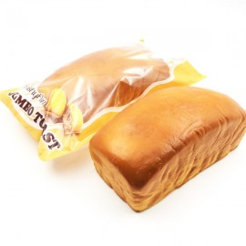 Squishy Fun Squishy Jumbo Toast Bread 20cm Slow Rising Original Packaging Collection Gift Decor Toy
