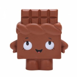 Squishy Chocolate Bar Slow Rising 13cm Jumbo Cute Kawaii Collection Decor Gift Toy - Coffee