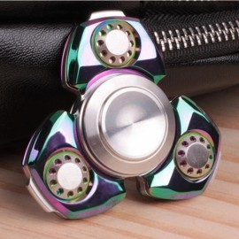 MATEMINCO EDC Ultimate Rotating Hand Spinner CNC Process Germany Silicon Carbide Hybrid Bearings Fingertips Spiral Fingers Gyro Colorful