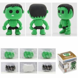 Hulk Model Ultralight 3D Colored Modeling Clay DIY Intelligence Toy