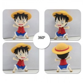 Monkey D Luffy Model Ultralight 3D Colored Modeling Clay DIY Intelligence Toy