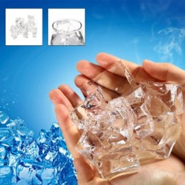 15pcs Popular Magical Ice Cubes Prop for Magic Performance Transparent
