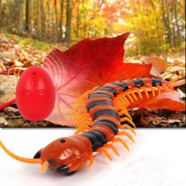 Remote Control Centipede Creative Electric Animal Prank Toy Red