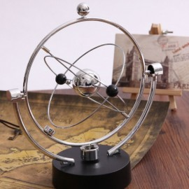 Newton Pendulum Ball Physics Science Metal Balance Ball Home Office Decor Kids Educational Toy