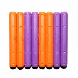 12pcs Magnetic Long Stick Children Educational Toy Assembly Part Random Color