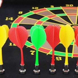 3pcs Stylish Dart Board Accessory Magnetic Metal Dart Needles