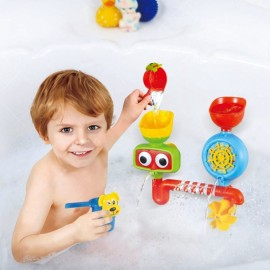 Lovely Portable Bath Tub Toy Water Sprinkler System Children Kids Toy Gift Multicolor