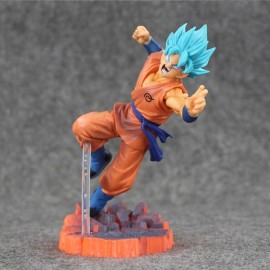 5pcs 15cm PVC Collective Dolls Dragon Ball Z Freezer Action Figure Model Toys Orange & Blue
