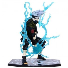 Fun Anime Character Naruto Shippuden Hatake Kakashi PVC Figure Model Toy Multi-color
