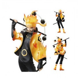 Japanese Anime Naruto Model Toy Uzumaki Naruto Action Figure 21cm