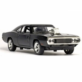 The Fate of the Furious Kids Toys 1:32 Dodge Charger Alloy Car Model Black