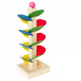 Ball Game Tree Wooden Toys Ball Rolling Run Track Kids Practical Ability Smart Toys