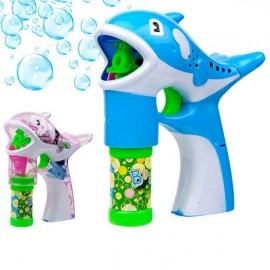 Children's Blowing Bubbles Toy Cartoon Style Dolphin Shape Automatic Soap Bubble Gun Random Color