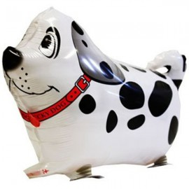 Walking Pet Balloon Kids Children Gifts Party Animal Foil Balloon Dalmatian Style