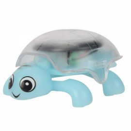 Mini Sunlight Solar Educational Toy Little Tortoise Turtle Gift Blue