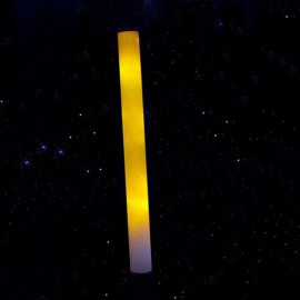 Cool Multicolor LED Foam Wands Flashing Glow Stick Light Yellow
