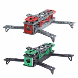 2pcs Frame Sets for RC Quadcopter with LED Tail Light & 10 Pairs 6040 Propellers