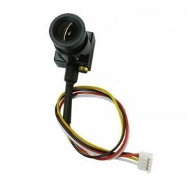 700TVL 3.6mm CMOS FPV 90-Degree Wide Angle Lens Camera PAL/NTSC DC 5-12V Black