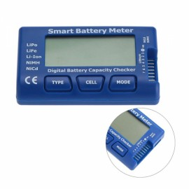 5 in 1 Digital Battery Capacity Checker Blue