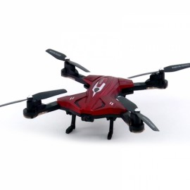 Skytech TK110HW RC Quadcopter Drone WiFi FPV Image Transmission with 0.3MP Camera G-sensor Waypoints Altitude Hold Phone Control Red RTF