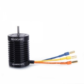 BoldClash BL F540 3930kv 4 Poles Waterproof Sensorless Brushless Motor for 1/10 1/12 RC Car