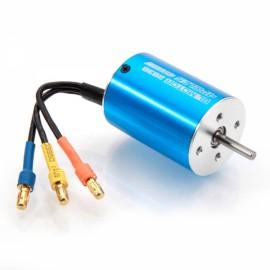 2838 4500KV 4Poles Sensorless Brushless Motor + 35A Brushless ESC for 1/14 1/12 Racing Car