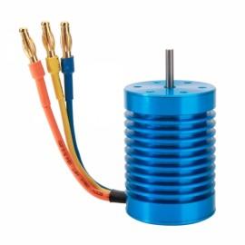 F540 3650 4370KV 4Poles Sensorless Brushless Motor + 45 Brushless ESC for 1/10 RC Off-road Car