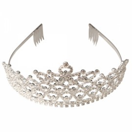 Rhinestone Wedding Bridal Headband Crown CR182