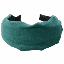 New Simple Stylish Cloth Girl Hair Band Headband Green