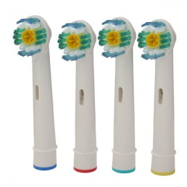 4pcs Universal EB-18A Replacement Electric Toothbrush Head for Oral-B D Series White
