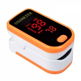 Color LED Display Oxymetre Pulsioxmetro Fingertip Pulse Monitor Yellow