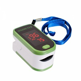 Color LED Display Oxymetre Pulsioxmetro Fingertip Pulse Monitor Green