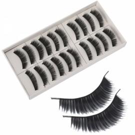10 Pairs Long False Eyelashes (SKS025)