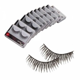 10 Pairs Cross False Eyelash