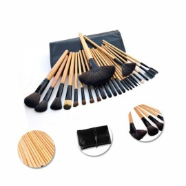 24pcs Professional Multifunctional Cosmetic Makeup Tool Finishing Brushes Kit