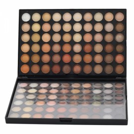 120-Color Warm Color Series Makeup Fine Texture Cosmetic Eyeshadow Palette