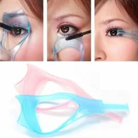 3-in-1 Mascara Applicator Guide Eyelash Comb Makeup Tool 3-in-1 Mascara Applicator Guide Eyelash Comb Makeup Tool