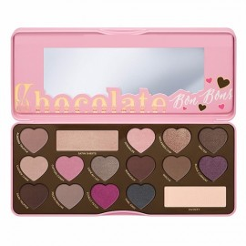 The Chocolate Bon Bons Heart-shaped Style16 Colors Eyeshadow Palette Cosmetic Makeup Tool Pink