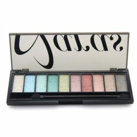 Naras 10-Color Eyeshadow Makeup Palette with Brush 3#