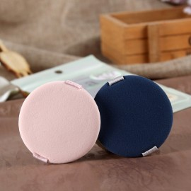 2pcs Air Cushion BB Cream Makeup Puff Foundation Powder Sponge Facial Flawless Smooth Comestic Tools Pink & Navy