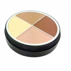 Menow 4-Color Long Lasting Waterproof Concealer Cream Face Makeup Cosmetics Palette #01