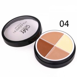 Menow 4-Color Long Lasting Waterproof Concealer Cream Face Makeup Cosmetics Palette #04