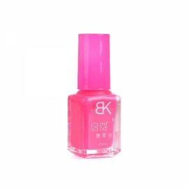 7mL Fashion Single Color Non-toxic Fluorescent Nail Polish Red