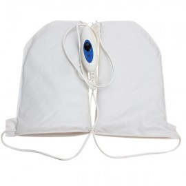 Electric Infrared Therapy SPA Heated Mittens Warming Gloves White